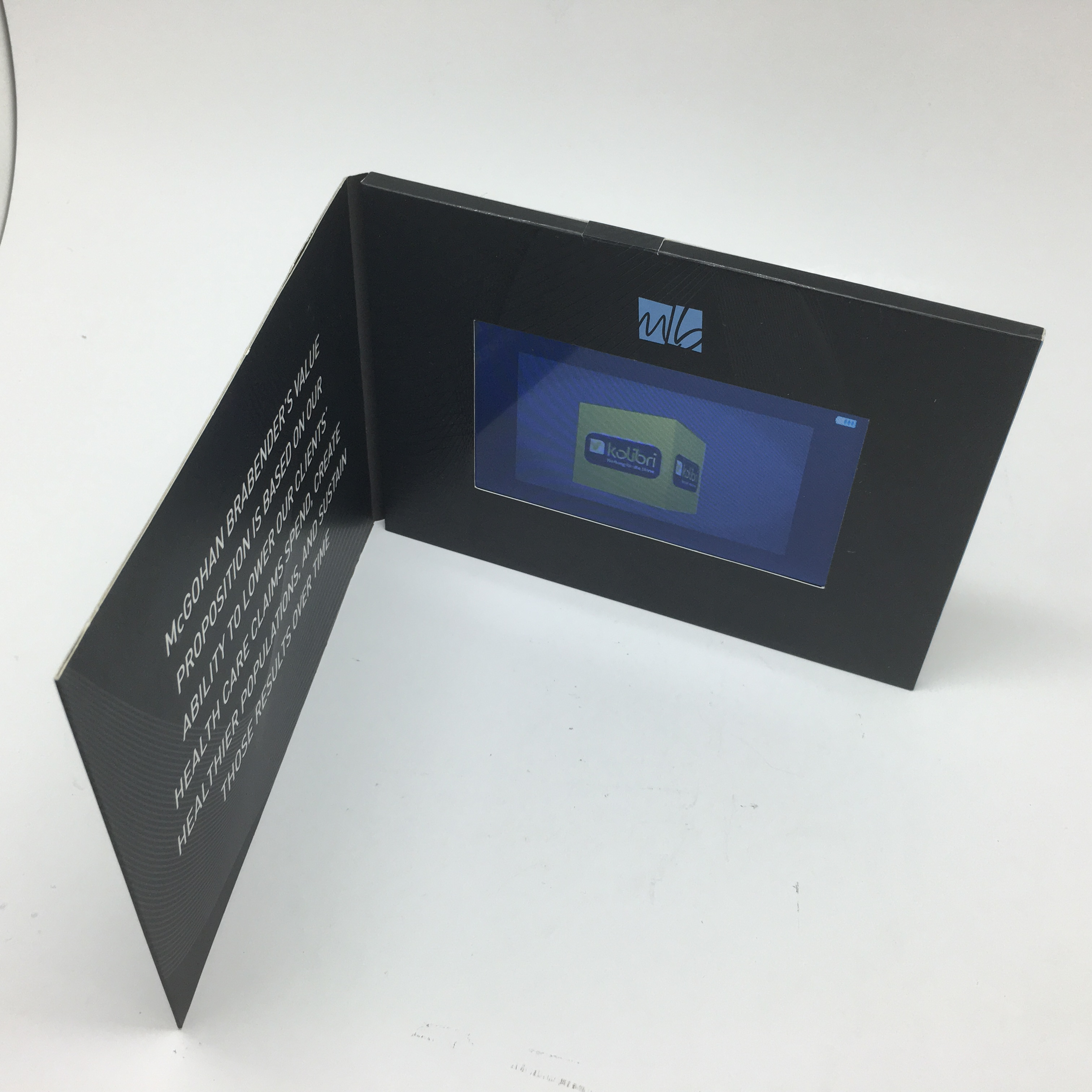 Professional Manufacturer Wedding Invitation Lcd Video Greeting Card