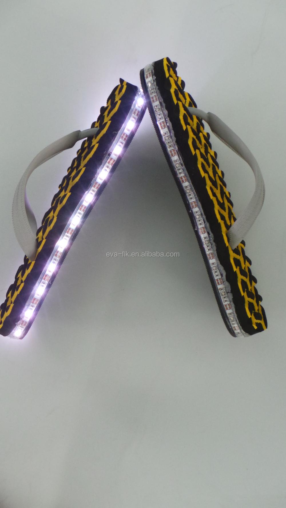 2018 New Fashion Men And Women Light Up Flip Flops Buy Oem Msid Sandal Flop Jepit Unisex