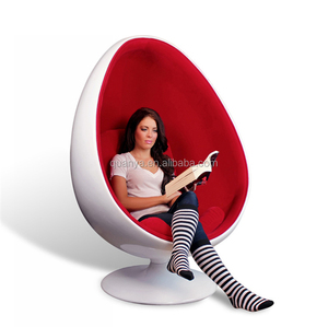 Lounge living room egg chair / Oval egg pod chair with speakers