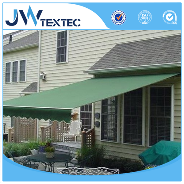 Solution Dyed PU PVC Coated Waterproof Awning Fabric