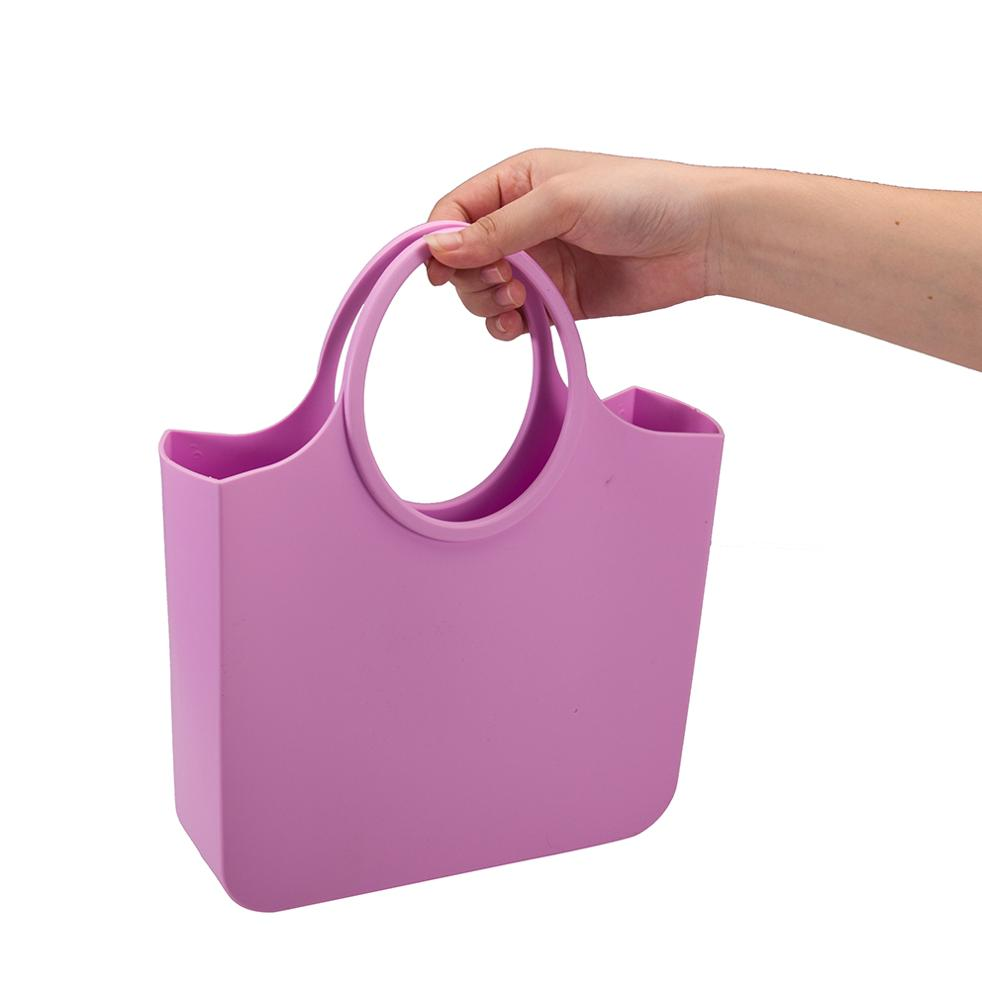 Высококачественная стильная Водонепроницаемая силиконовая пляжная сумка-тоут, неопреновая сумка, женские резиновые сумки-тоут