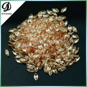 Wholesale cubic zirconia man made synthetic rough diamond for sale