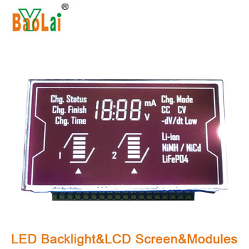 Custom size Watch display backlight small LCD Module