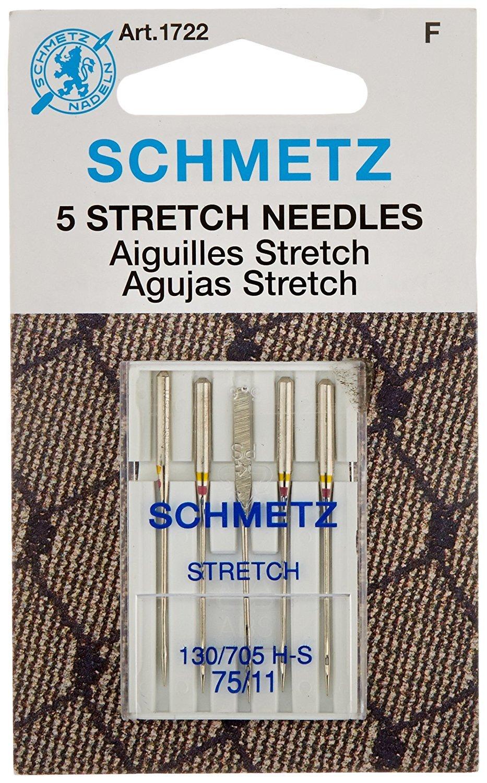 Schmetz 206X13 HPX13 Size 12 Flat Shank Needles for Singer 206 10 Pk 306 319
