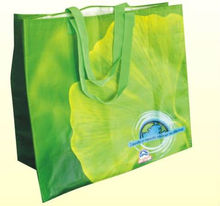 Tote bag with pp laminated