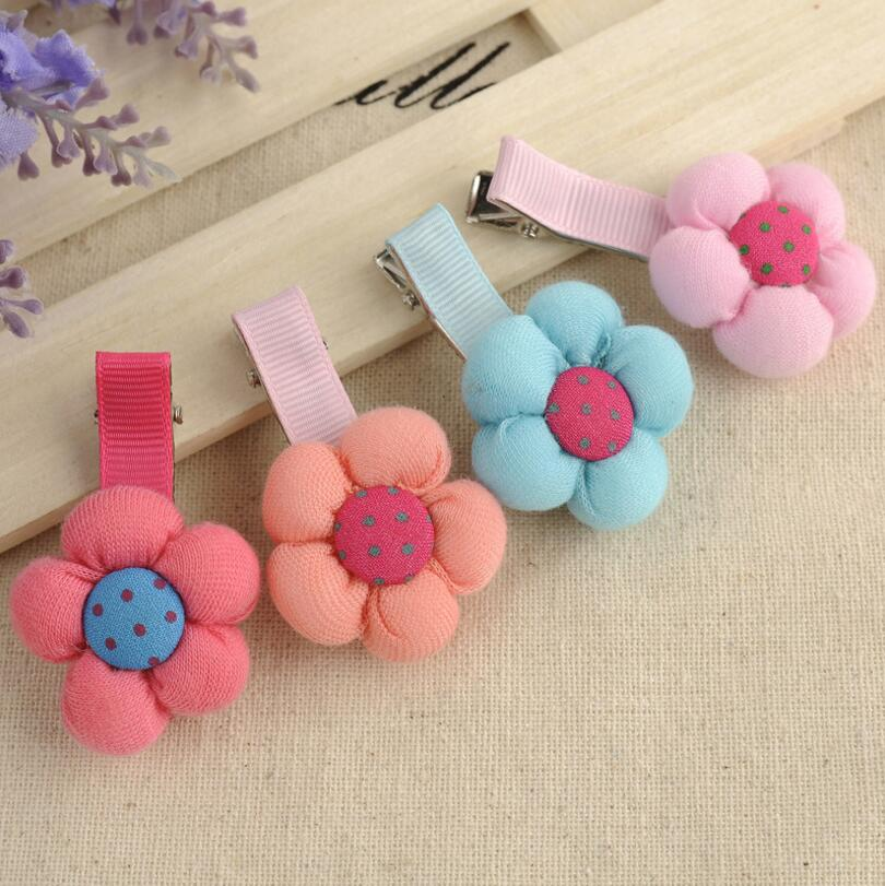 Cute Cartoon Candy Color Baby Girls Headwear Hairpin BB Hair Clips Snap Band Barrette Hairpins Toddler Hair F577