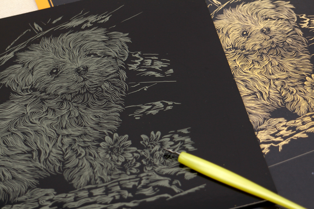magic scratch art scratch paper engraving art