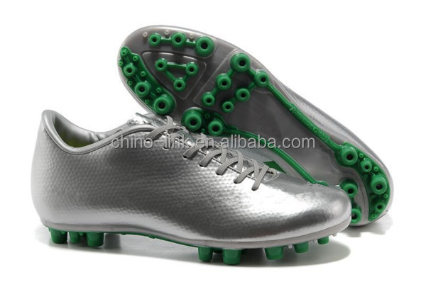 Men's hot selling football shoes& wholesale soccer shoes