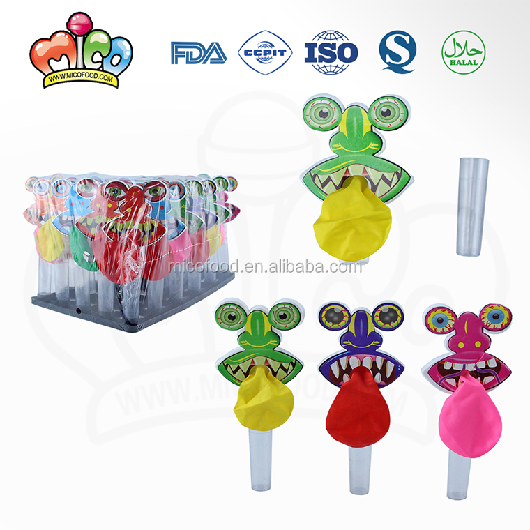 monster balloon toy candy