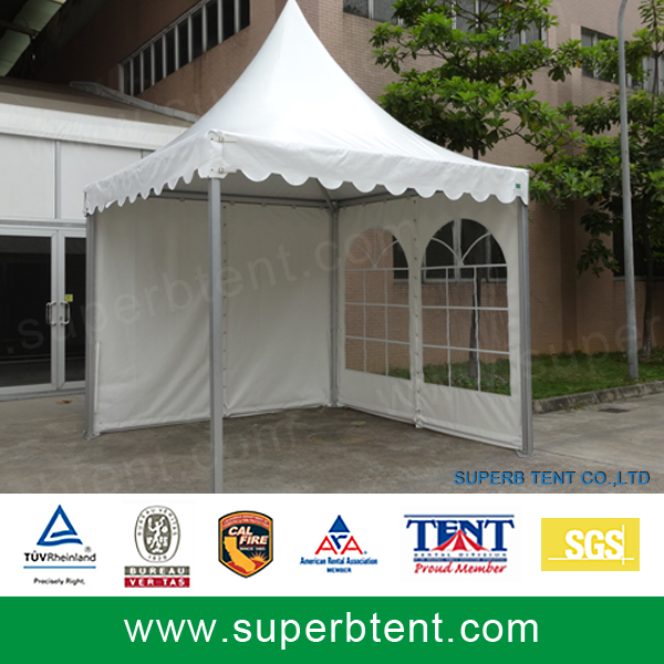 Cheap permanent wedding function clear medieval nigeria for Cheap wall tent