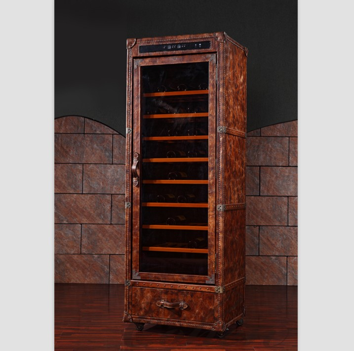 home bar whiskey antique red wine wooden storage display kitchen <strong>cabinet</strong>