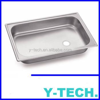 Kitchen Bowl Insert Sink Kitchen Sink One Bowl Stainless Steel Prison Sink  YK1624