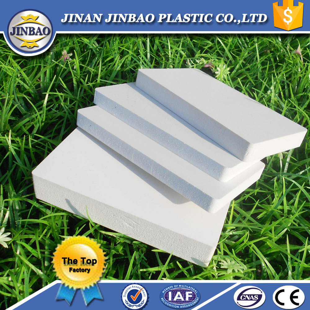 Foam board recycled plastic sheets PVC 8mm