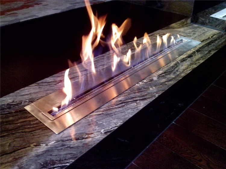 insert bio ethanol fireplace surround decorative plaster stone marble quartz stones