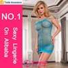 2015 Sunspice hot sale newest and fashionable sexy blue open dress lingerie