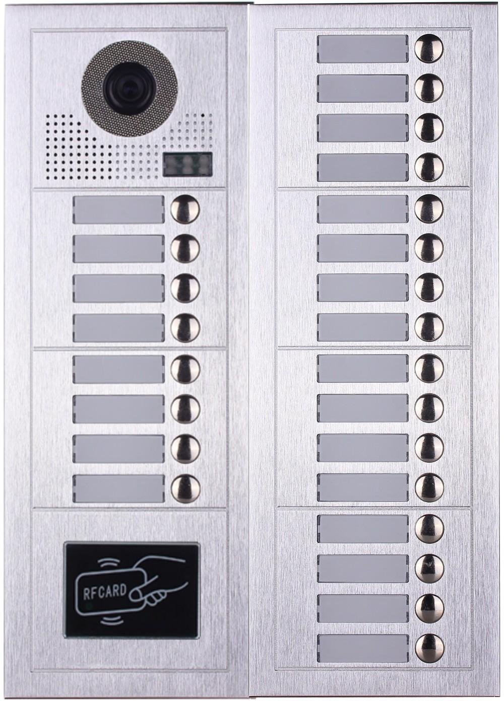 Wholesale Multi Apartment video door phone Video Intercom System ...