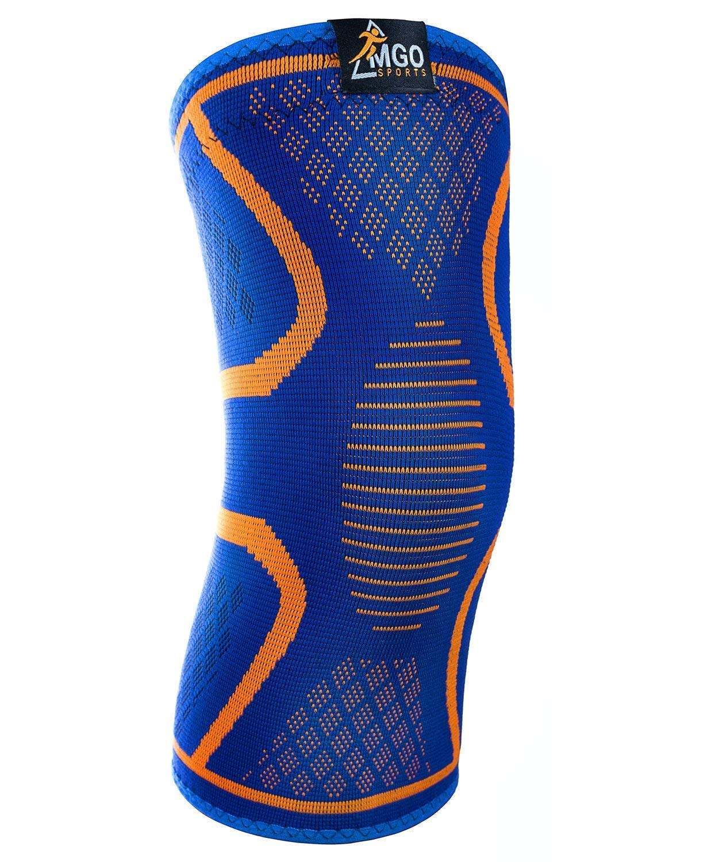 7af0b872e6 Get Quotations · Knee Compression Sleeve – Knee Brace For Meniscus Tear,  Arthritis, Tendonitis – For Basketball