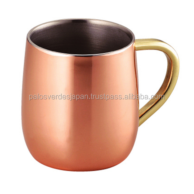 Wholesale wholesale Coffee On Brass Copper Double Japan double Product Mug Mug Buy Handle Mug Wall zGMVLSjqUp