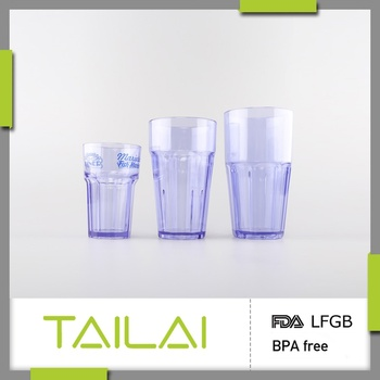 Direct manufacturer popular food grade personalized shot glass