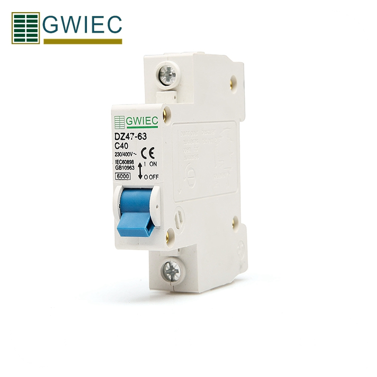 GWIEC High Quality Products Dz47-63 16 Amp 1P Single Pole Miniature Circuit Breaker Mcb