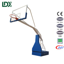 Professional lifetime electric hydraulic basketball hoop for sale