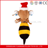 2015 HOT SELLING!! Custom Plush bee toys,stuffed bee with wing plush toys