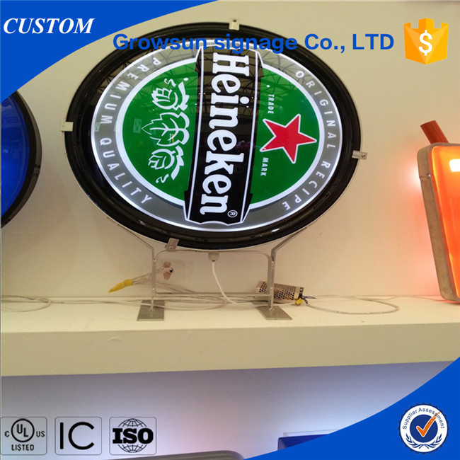 Custom mould vacuum forming light box for advertising