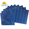 High conversion efficiency poly solar cells for solar panels with 5 bus bar,