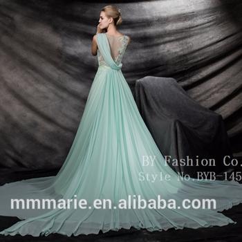 Chiffon Nice Design Hot Sale Wedding Dresses Girls Long Engagement ...
