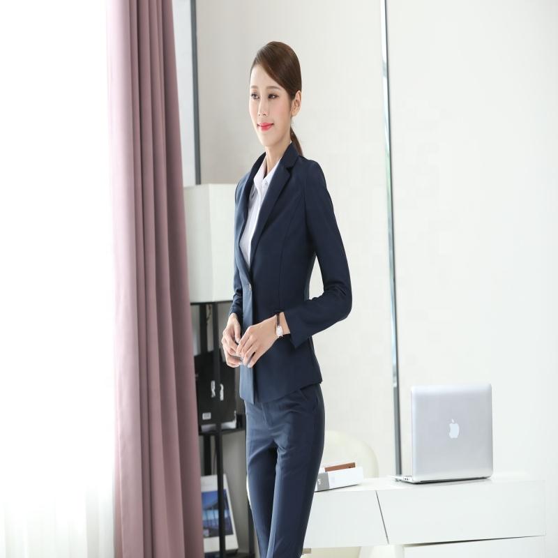 A personalização avançada de Casamento Mais Recente Projeto Mulheres Moda Blazer Terno de Negócio