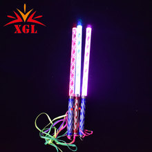 Colorato Bar Scuotendo Led Glow Sticks Flash Bacchette Aste Onda Acrilico Bambini Light up Toys Decorazione Del Partito