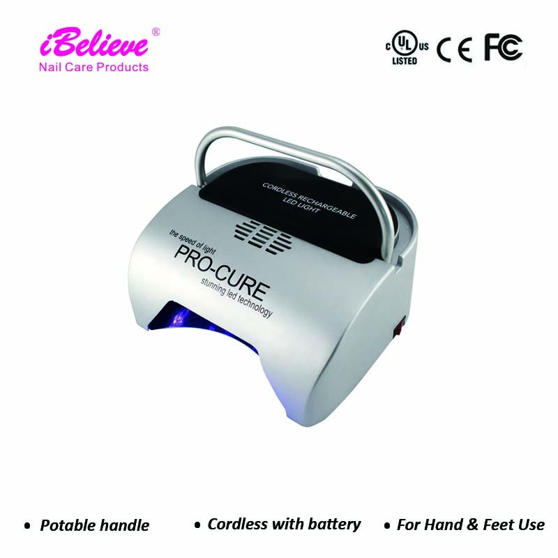 i believe nail lamp 48W gel uv led cordless nail lamp