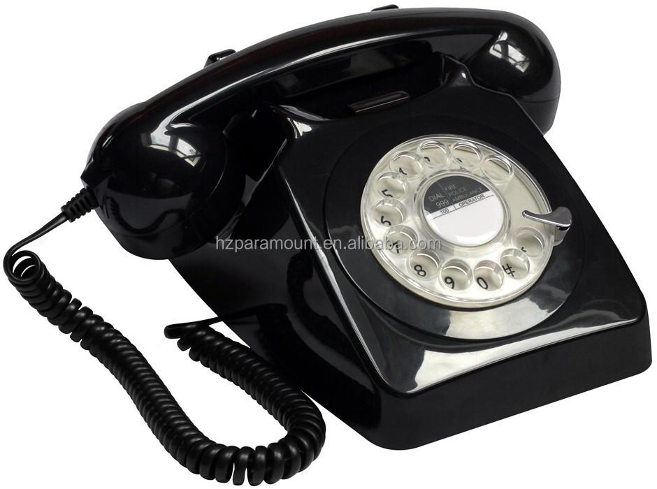 Telefono Stile Antico 1951tn Gpo746 La Moda Classic Rotante Fasihon Vecchio Telefono Telefoni