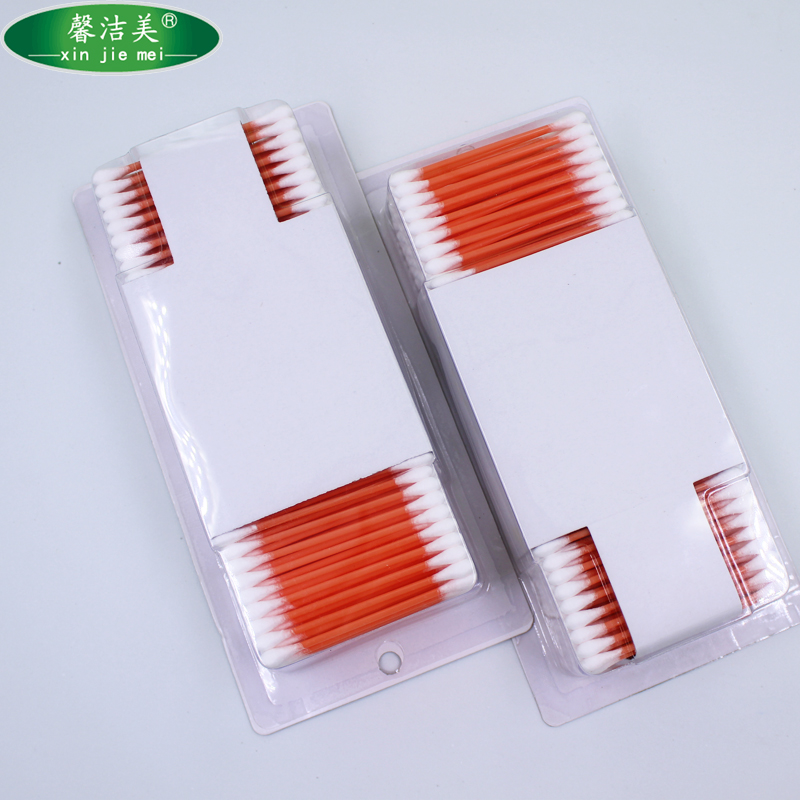 Makeup remover plastic stick cotton swabs q tips