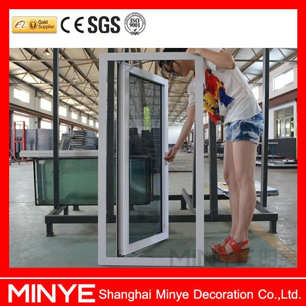 China Supplier Double Glazed Upvc Casement Door,Elegant White ...