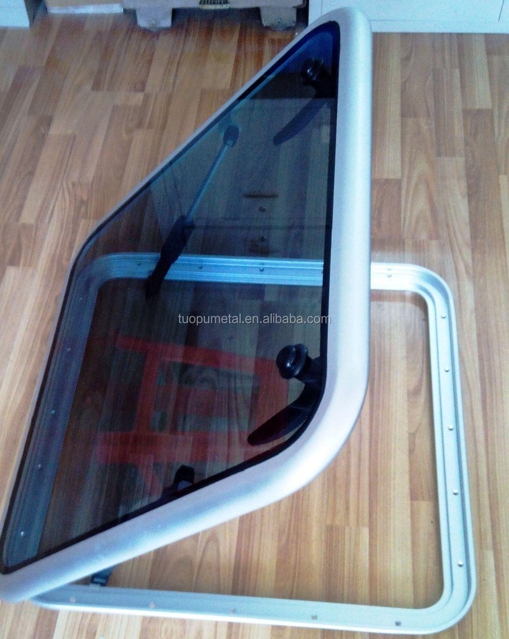 Aluminum Alloy Marine Deck Hatch Safety Skylight Yacht
