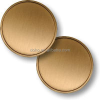 Factory Customized brass coins Cheap price Copper metals double side blank coins