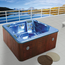 free standing hot tub. HS B3327M resort freestanding hot tub sex mini outdoor bathroom pool s  Outdoor spa direct from Foshan Hanse Sanitary Ware Co