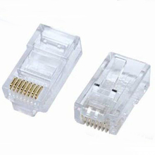 Best Selling 8P8C Cat5e <span class=keywords><strong>Rj45</strong></span> Ethernet Modular Conector