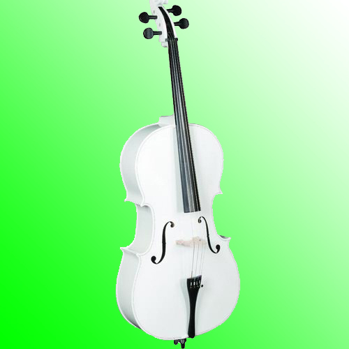 Cello Color Blanco Negro Cello Instrumento De Cuerda Buy Cello Blanco Color Cello Cello Product On Alibaba Com