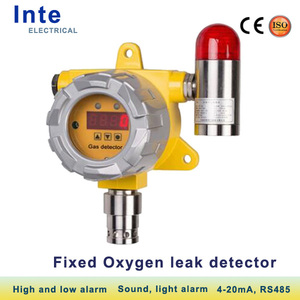 City sensor adopted Oxygen gas leak detector fixed O2 monitor of high quality