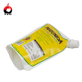 Heat seal custom plastic 150ml 500ml 1L 2L spout pouch
