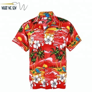 379a2c43e Custom Printed Hawaiian Shirt Rayon Cheap Hawaiian Shirt Men Wholesale