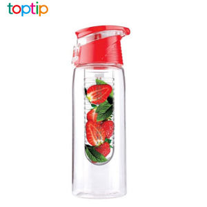 Top Factory Eco-friendly Private Label Fruit Water Bottle