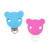 Wholesale safety Bead Baby Holder Chain teething toy for baby Pacifier Chain clip