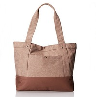 Wholesales new designer fashion cotton canvas women shopping tote shoulder bag