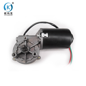 High Efficiency Worm Gear Sectional Door Brushless Dc Motor 24V 500W