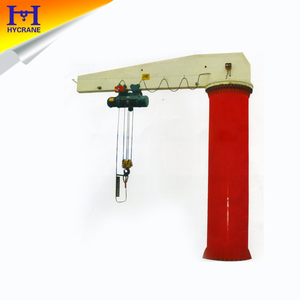 3 ton jib crane price with derricking jibs