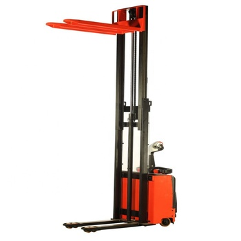 Factory supply electric stacker with rechargeable batteries