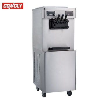 New style China wholesale factory price 2+1mix soft serve ice cream machine maker